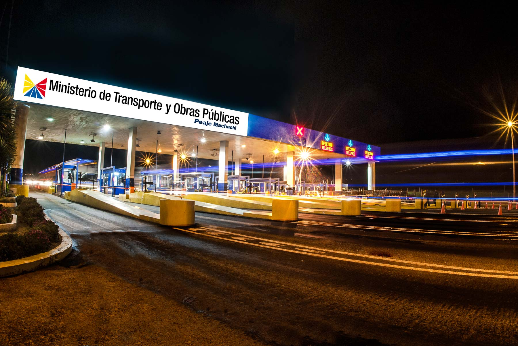 fotografía de infraestructuras civiles